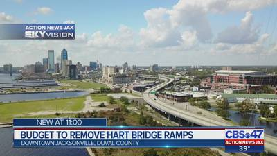 No grant to take down Hart Bridge ramps in Jacksonville, project is unchanged
