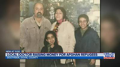"""""""I want to show the kindness that America showed me"""": Local doctor raises money for refugee families"""
