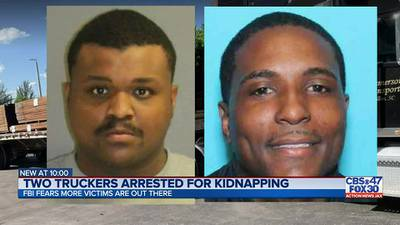 FBI: Truckers ran kidnapping for ransom scheme targeting women in multiple states