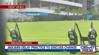 Jaguars continue practice after several NFL teams cancel to focus on social issues