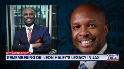 """""""He was the real deal"""" UF Health works to carry on Dr. Haley's mission"""