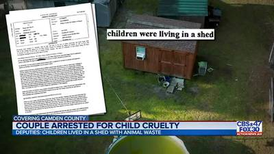 Couple arrested for child cruelty