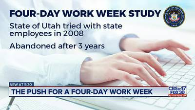 A push for a four-day work week