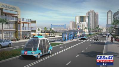 Jacksonville now at top of list for driverless transportation