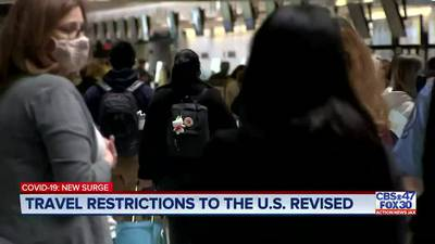 Unvaccinated Americans will face more testing for international travel under new travel guidance