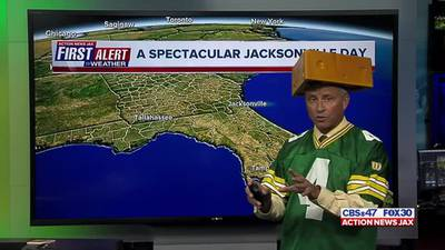 First Alert Chief Meteorologist Mike Buresh lets Packers fans know what they can do in Jacksonville