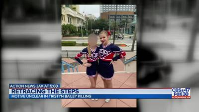 Cheer community selling T-shirts in memory of Tristyn Bailey, proceeds go to Bailey's family