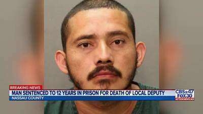 Man sentenced to 12 years in prison in 2016 death of Nassau County deputy