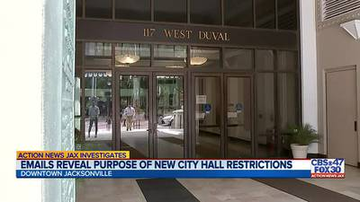 INVESTIGATES: Emails reveal purpose of new City Hall restrictions