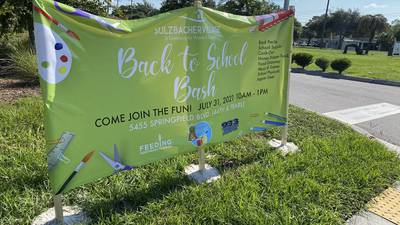 Jacksonville leaders provide free school supplies to families in need