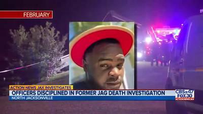 Investigates: Officers disciplined in former Jag death investigation