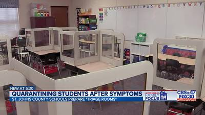 Family Focus: Quarantining students after COVID-19 symptoms