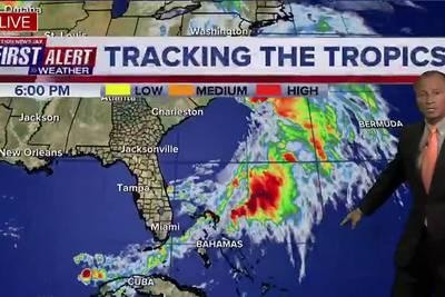 Tracking the Tropics - Mon., Oct. 25th