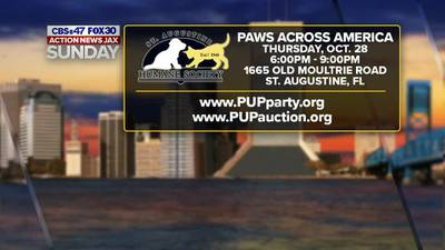 Helping raise money for the St. Augustine Humane Society