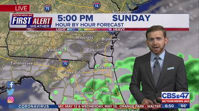 First Alert Weather: Wetter weather for Mother's Day weekend