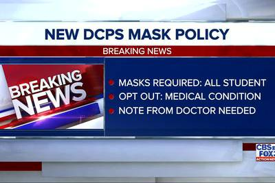 DCPS board votes to require masks