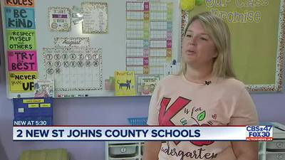 St. Johns County welcomes back students with two new schools