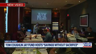 """Tom Coughlin Jay Fund hosts """"Savings Without Sacrifice"""""""