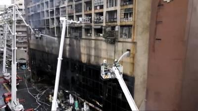 Photos: Taiwan fire leaves 46 dead, dozens hurt