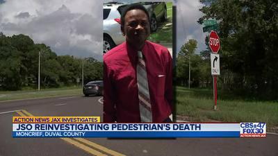 JSO reinvestigating pedestrian's death