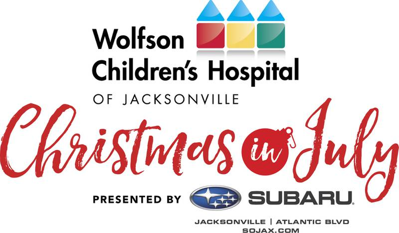 Wolfson Children's Hospital Christmas in July toy drive