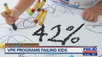 Action News Jax Investigates: Readiness rates of Florida's VPK programs