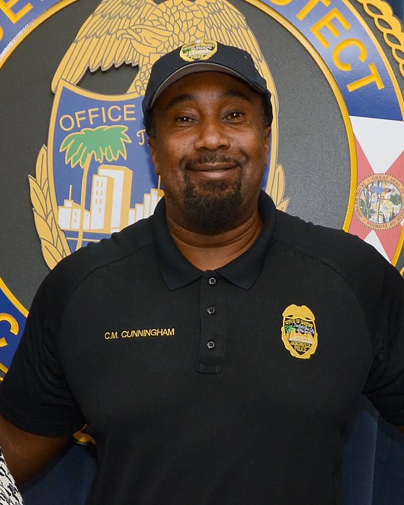 Jacksonville Sheriff's Office Lt. Chris Cunningham. Died from a COVID-19 related illness on Aug. 5, 2020.