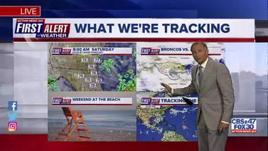 First Alert Forecast: Fri., Sept. 17th - Late Evening