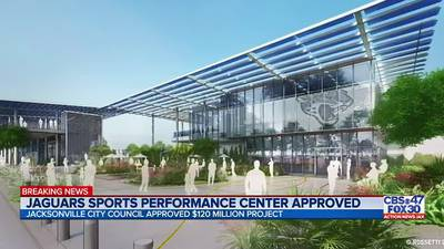 Jacksonville City Council approves new sports performance facility for the Jaguars