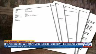 INVESTIGATES: Internal emails reveal purpose for new city hall restriction signs