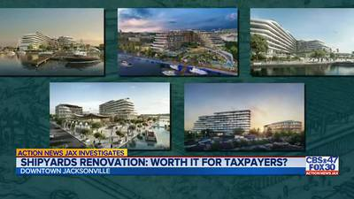 Action News Jax Investigates: Economists are critical of Shipyards economic impact study commissioned by Jaguars that claims $6 billion in direct spending