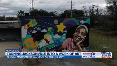 Black History Month: Turning Jacksonville into a work of art