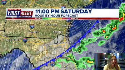 First Alert Forecast: Saturday, October 16 - Early Evening