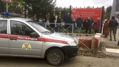 Russia university shooting: 8 dead, 24 hurt after gunfire erupts on Perm campus