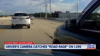 EXCLUSIVE: Road rage incident caught on dash camera