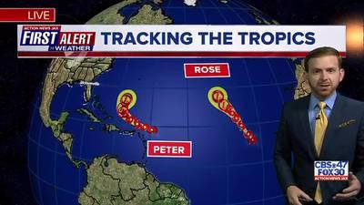 Tracking the Tropics: Monday, September 20
