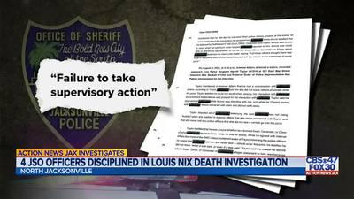 JSO officers disciplined in the death investigation of former Raines, Notre Dame, Jaguar Louis Nix