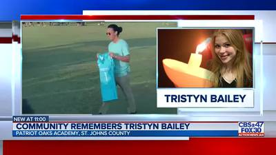 Patriot Oaks Academy honors Tristyn Bailey at homecoming game