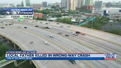 Jacksonville father and business owner killed in wrong-way crash, loved ones say