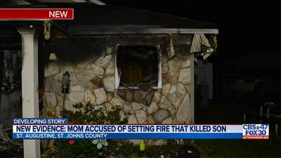 'My son was my best friend': Evidence released in suspected arson that killed 11-year-old son