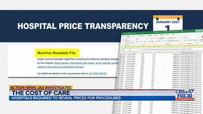 Action News Jax investigates if local hospitals are keeping some price information hidden from you