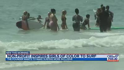 Jacksonville nonprofit works to make surfing a more inclusive sport