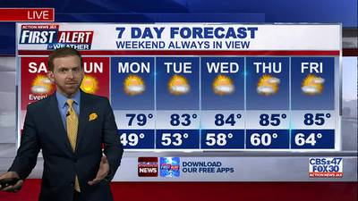 First Alert 7-Day Forecast: Saturday, October 16
