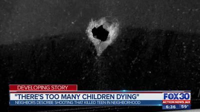 Surveillance camera captures gunshots in deadly double shooting in Jacksonville