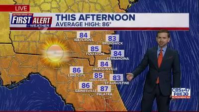 First Alert Forecast: Saturday, September 25 - Morning