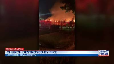 Northside church destroyed by fire