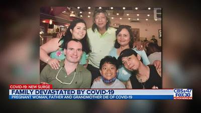 'Time is gold': Jacksonville family loses 3 family members to COVID-19 in 1 month