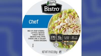 Recall alert: Ready Pac Foods' recalls ready-to-eat salads due to mislabeling