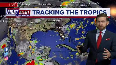First Alert Forecast: Tuesday, August 11 - Noon