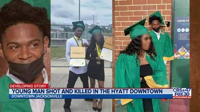 19-year-old killed in Hyatt Regency shooting downtown; JSO identifies murder suspect